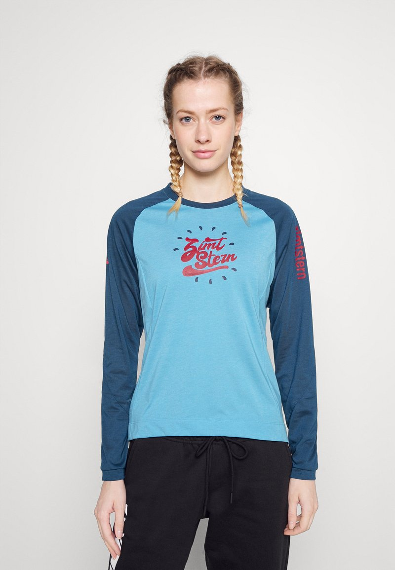Zimtstern - PUREFLOWZ - Sports shirt - heritage blue/french navy