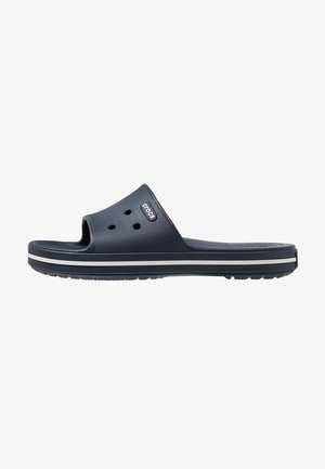 CROCBAND III  - Pool slides - navy/white