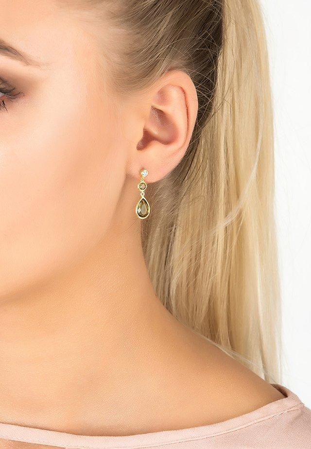 Boucles d'oreilles - grün