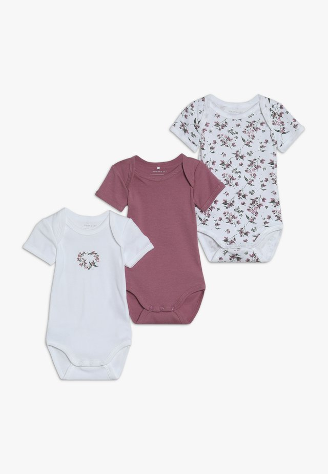 NBFBODY FLOWER 3 PACK - Pyjamas - heather rose