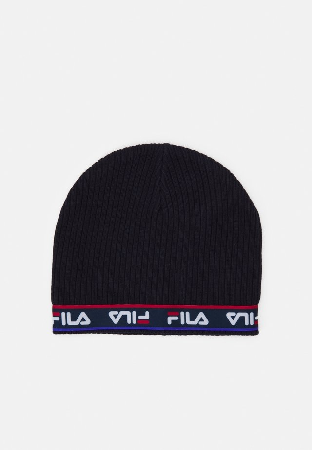 TAPED BEANIE UNISEX - Beanie - black iris