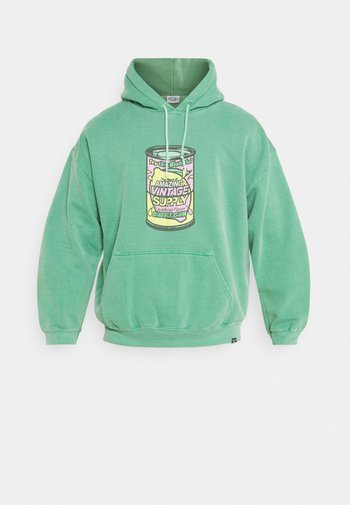 BUBBLE GUM CAN HOODIE - Sweatshirt - green
