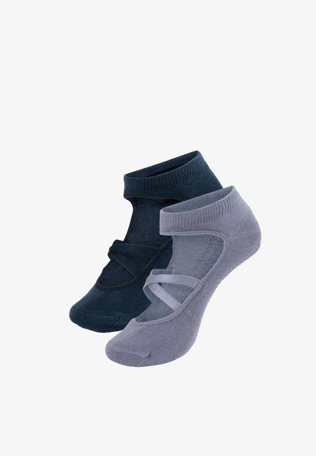 2 PACK - Sports socks - blue