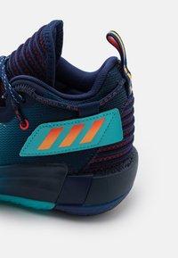 adidas Performance - DAME 7 EXTPLY BASKETBALL LILLARD LIGHTSTRIKE SHOES MID - Basketball shoes - blue - 5