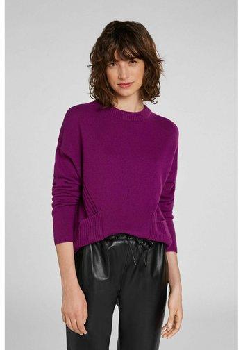 Sweatshirt - grape juice