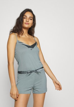 PLAYSUIT SHINY - Pyjamaser - aventurine