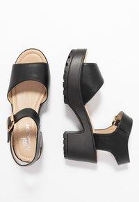 Koi Footwear - VEGAN - Sandales à plateforme - black - 3