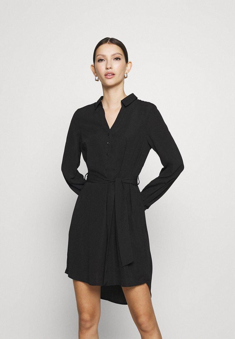 Vero Moda - VMBOA SHORT DRESS - Shirt dress - black