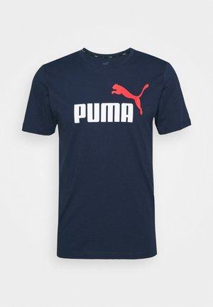 LOGO TEE - Print T-shirt - peacoat