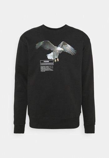 WOLF GRAPHIC UNISEX  - Sweatshirt - black