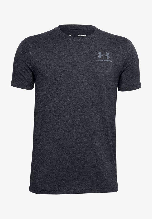 Print T-shirt - black medium heather