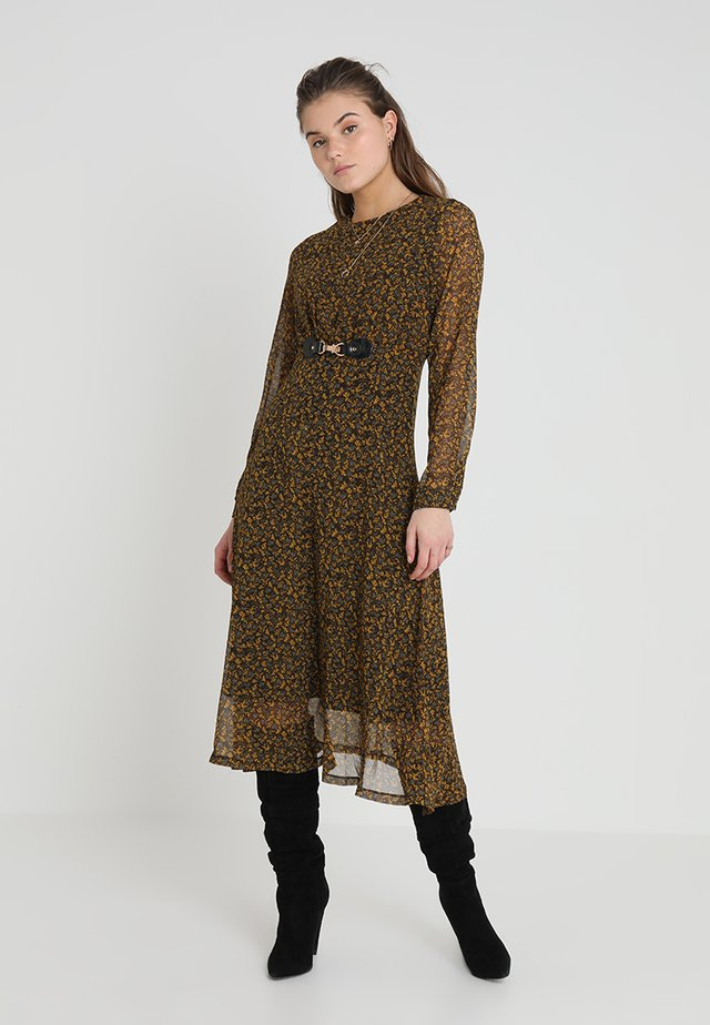 TO THE ROOFTOP DRESS - Maxi šaty - brown