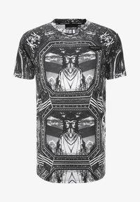 Supply & Demand - NEW YORK MIRROR - T-shirt con stampa - black/white - 3
