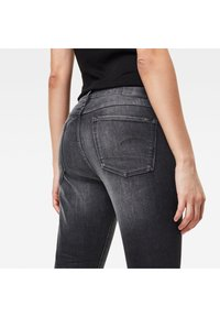 G-Star - MID SKINNY ANKLE - Jeans Skinny Fit - worn in corby black - 2