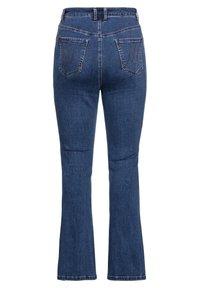 Sheego - Bootcut jeans - blue denim - 5
