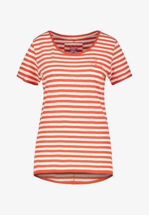Print T-shirt - orange (33)
