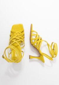 Topshop - RHAPSODY STRAPY - Sandály na vysokém podpatku - lime - 3