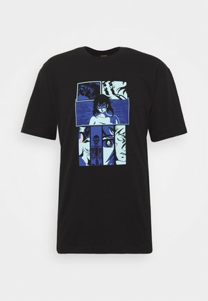 HIGH FANTASY TS - Camiseta estampada - black