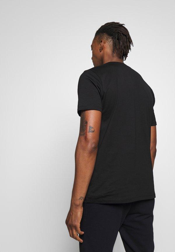 HUGO DICAGOLINO - T-shirt z nadrukiem - black/czarny Odzież Męska BWXC
