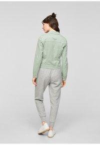 Q/S designed by - Denim jacket - mint - 2