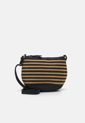 LITTLE COCOON - Across body bag - black/camel
