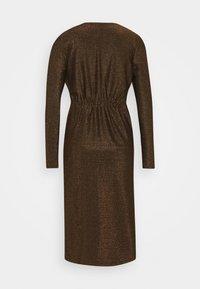 YAS - YASYEN V NECK MIDI DRESS - Cocktail dress / Party dress - black - 1