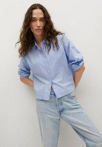 Mango - Straight leg jeans - light blue - 3