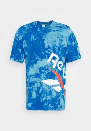 CL GP TIE DYE VINTAGE TEE - T-shirt con stampa - dynblu