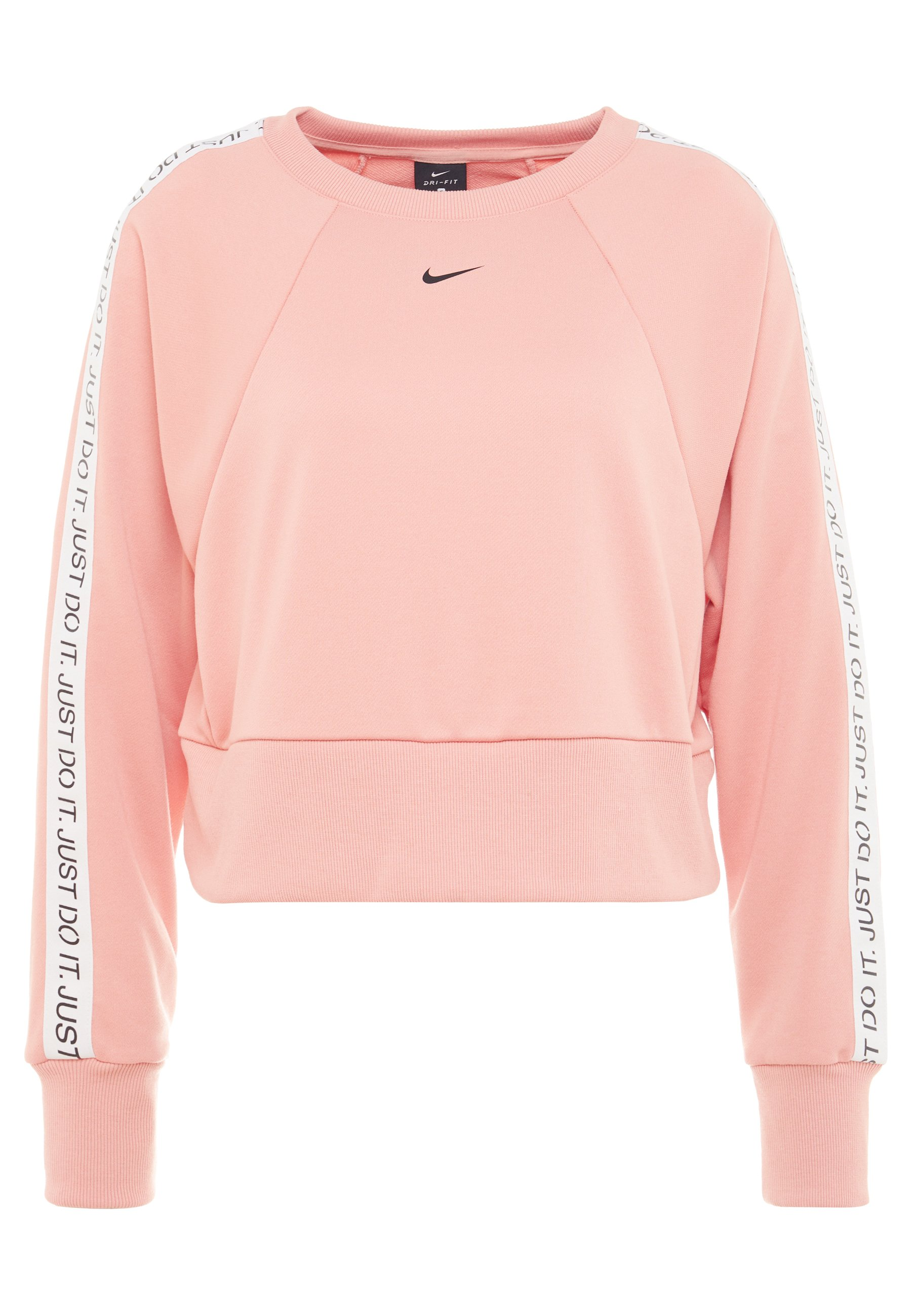 NIKE DRI FIT GET FIT SPORT SWEATER ROZE DAMES