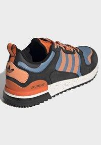 adidas Originals - ZX - Sneakers basse - core black easy orange orange - 3