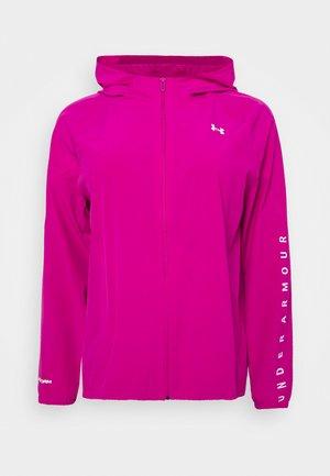 HOODED JACKET - Training jacket - meteor pink