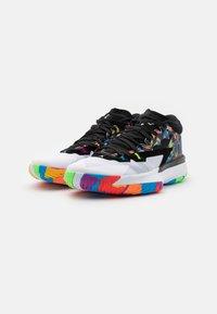 Jordan - ZION 1 - Chaussures de basket - black/white/bright crimson/amarillo/blue hero/hyper violet - 1
