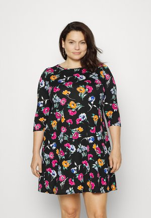 Jersey dress - multi floral