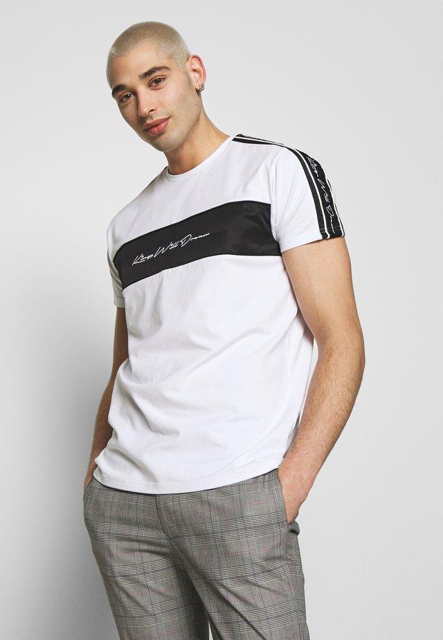 NOSTONT - Printtipaita - white