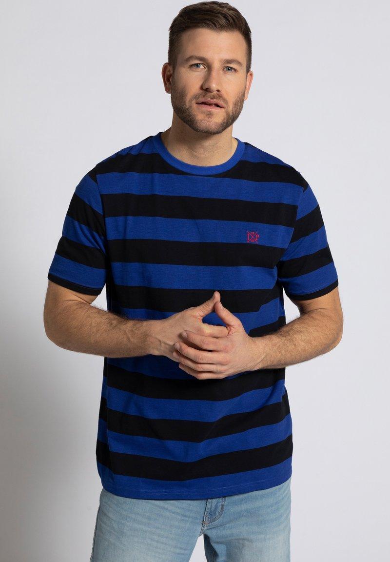 JP1880 - Print T-shirt - kobaltblau
