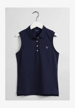 Polo shirt - evening blue