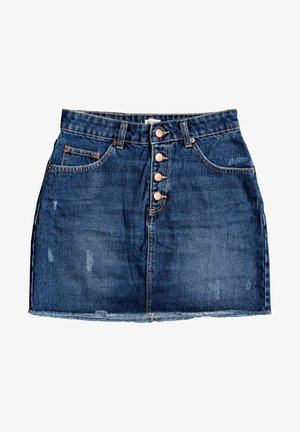 SURFING POWER - Denim shorts - dark indigo