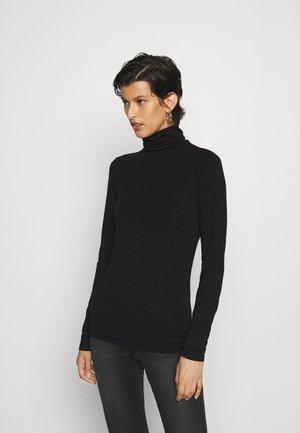 PCSIRENE ROLLNECK - T-shirt à manches longues - black