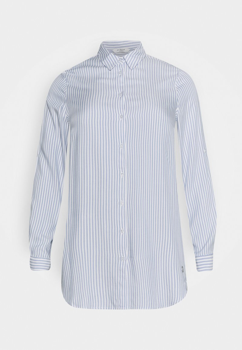 MY TRUE ME TOM TAILOR - Button-down blouse - off white