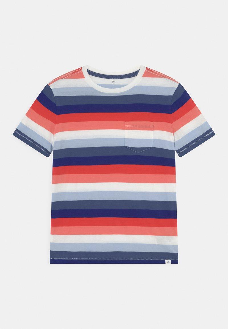 GAP - BOYS - T-shirts print - blue/red/pink