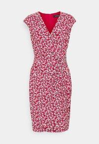 RODYA SHORT SLEEVE DAY DRESS - Jersey dress - lighthouse navy/red/cream