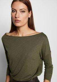 Sisley - Maglietta a manica lunga - khaki - 4