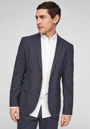 MET HYPERSTRECH - Suit jacket - dark blue dots
