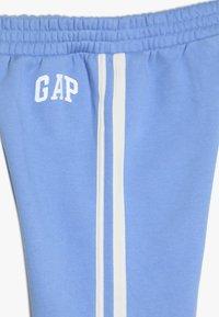 GAP - GIRL LOGO JOGGER - Teplákové kalhoty - moore blue - 3