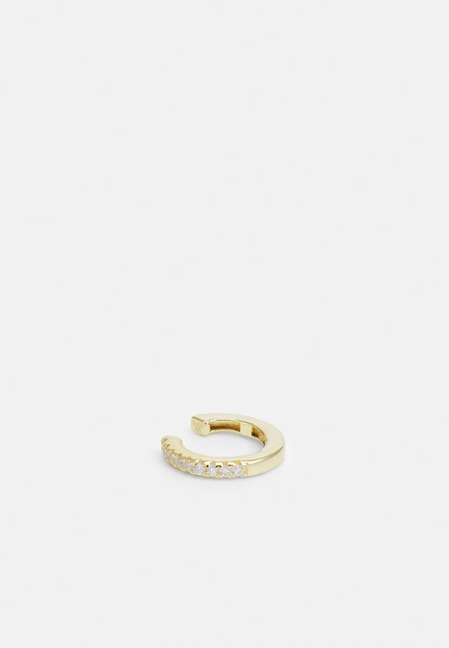 HINGE PAVE EAR CUFF - Korvakorut - gold-coloured