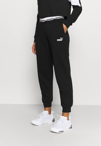 AMPLIFIED PANTS - Tracksuit bottoms - black