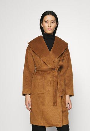 ROBE COAT - Classic coat - dark camel
