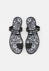 Love Moschino - T-bar sandals - nero - 3