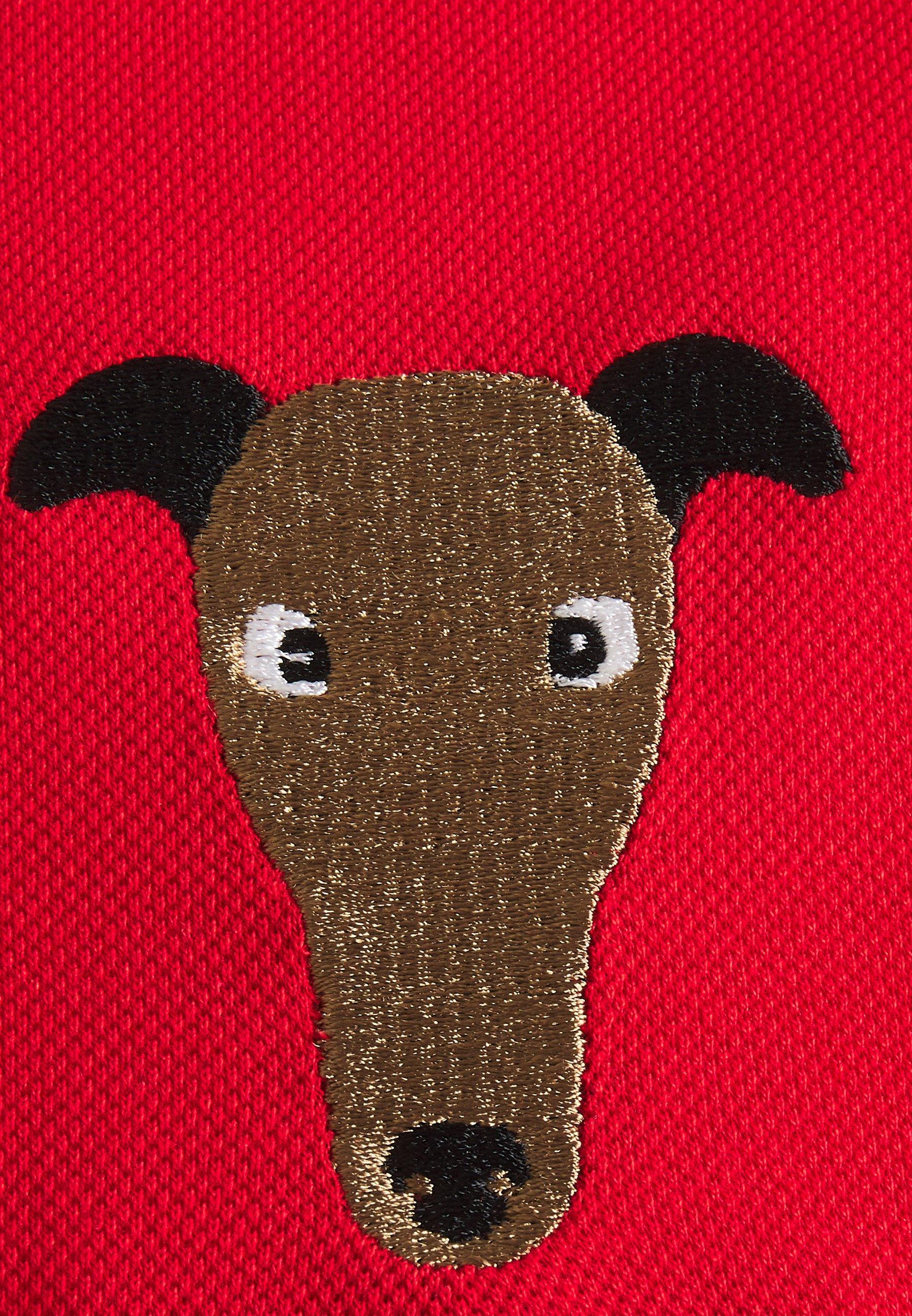 Trussardi COTTON PIQUET REGULAR - Polo shirt - red vDRVw