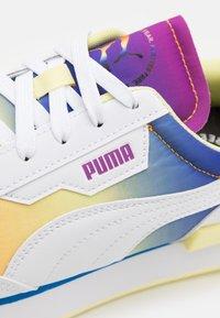 Puma - FUTURE RIDER PRIDE UNISEX - Trainers - white - 5